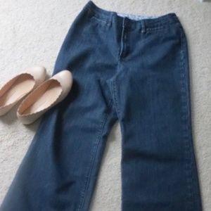Chico's Platinum Ultimate Trouser Jeans 1.5 Short